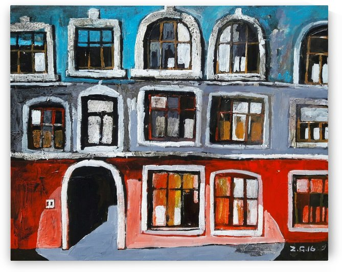Colorful House by Zurab Gikashvili