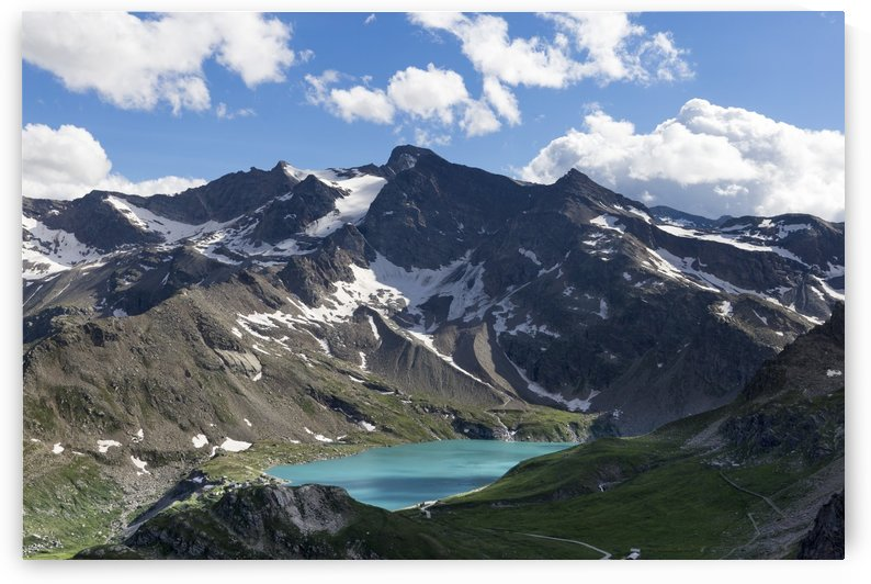 Alpine lakes in Gran Paradiso by Pietro Ebner
