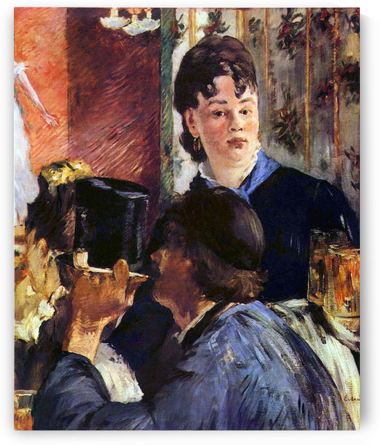 Waitress by Edouard_Manet by Edouard Manet