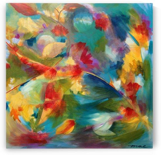 Bird Flowers by Michael Anne Erlewine