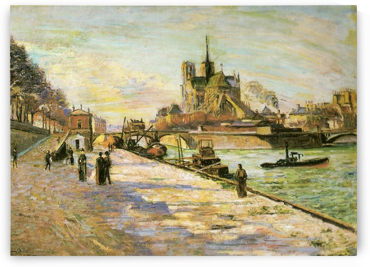 Notre Dame de Paris by Armand Guillaumin