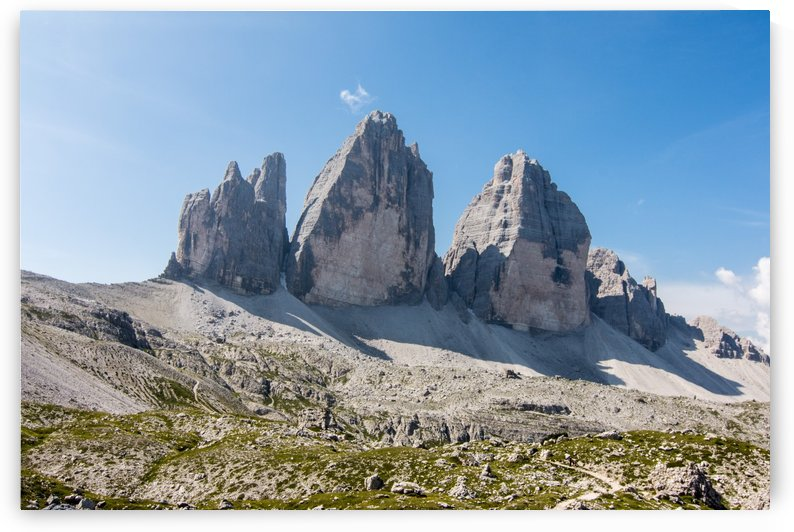 Three peaks of Lavaredo by Pietro Ebner