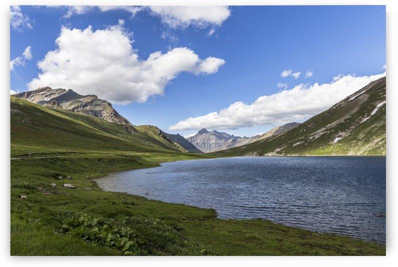 Small lake in Gran Paradiso by Pietro Ebner