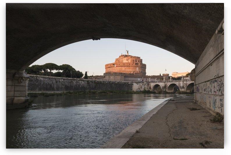 Castel Sant Angelo by Pietro Ebner
