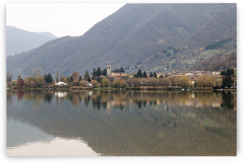 lake of Endine by Pietro Ebner