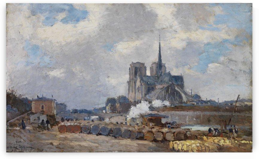 Notre Dame de Paris by Albert Lebourg