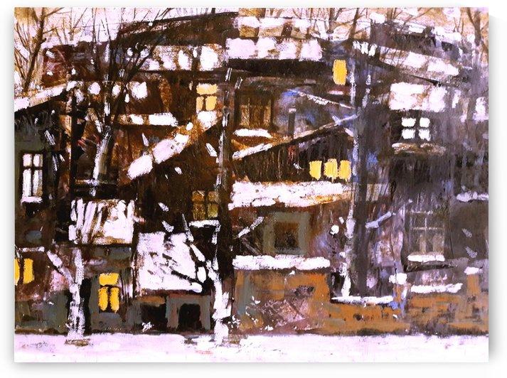 Old Town 3 by Zurab Gikashvili