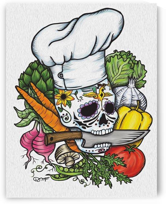 Dia de los Muertos Chef by Daniel J Fuller
