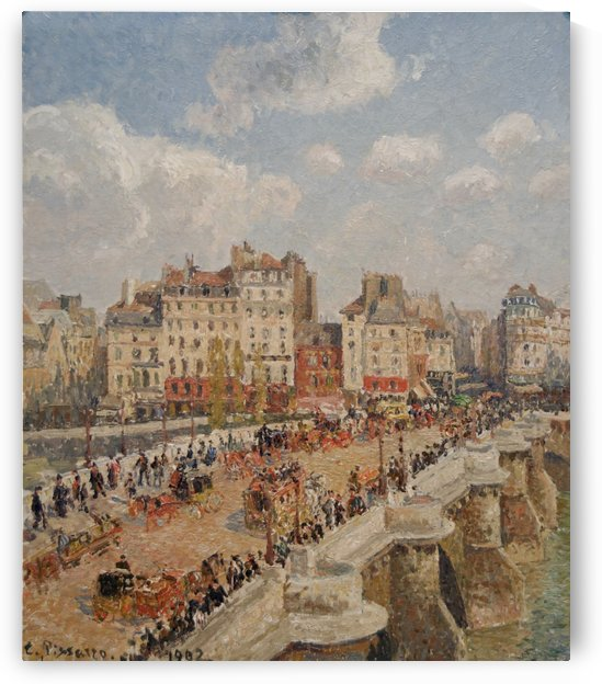 Le Pont-Neuf 1902 by Camille Pissarro
