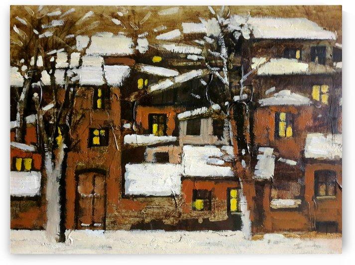 Old Town 4 by Zurab Gikashvili