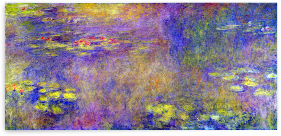 Water Lilies - (Yellow nirvana) by Monet by Monet