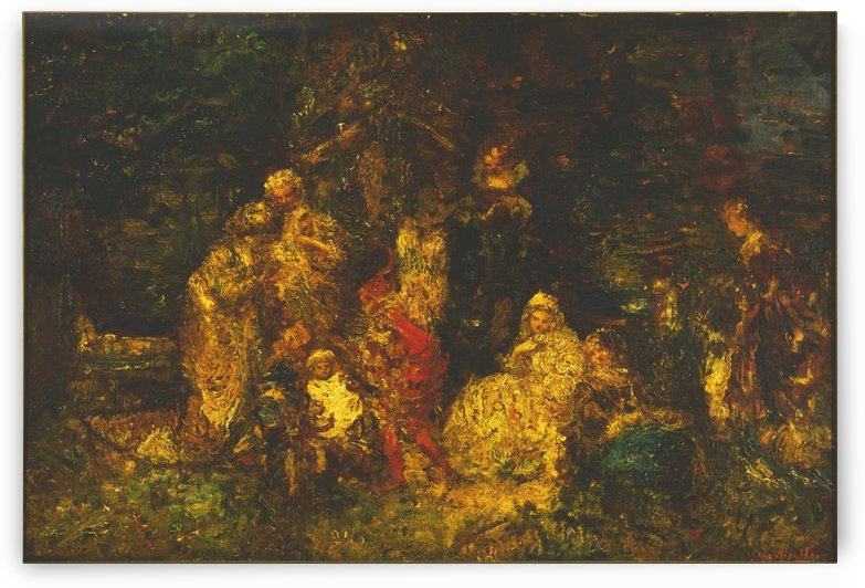 As You Like It by Adolphe Monticelli