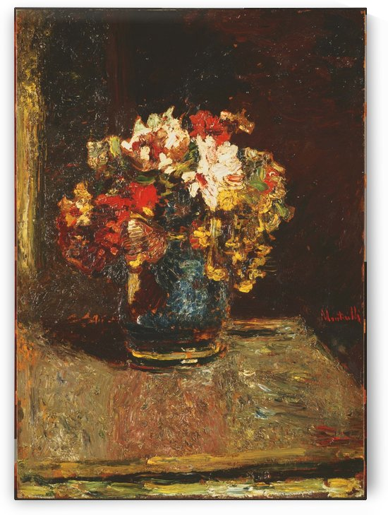 Bouquet by Adolphe Monticelli