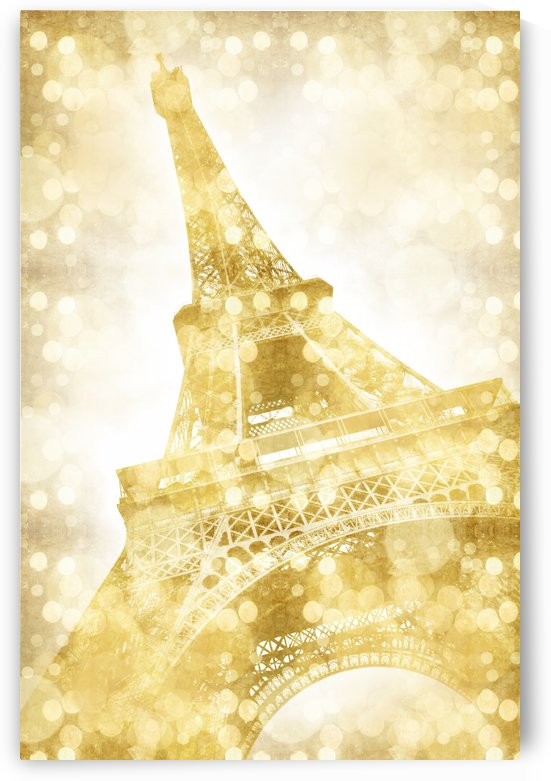 EIFFEL TOWER | golden illusion by Melanie Viola