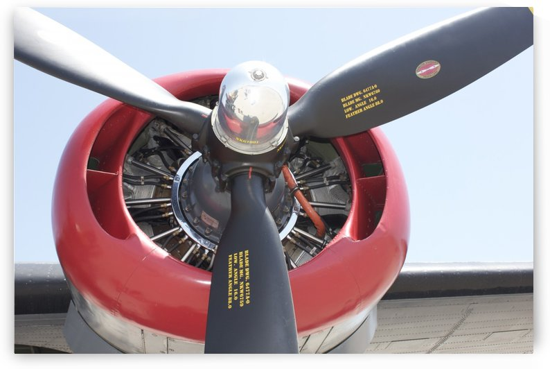 Propeller B-25 by A Booth
