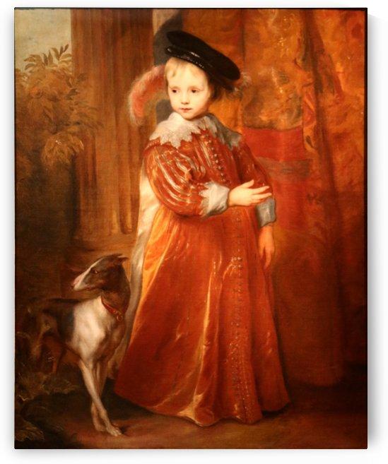 Anthonie van Dyck-Guillaume II by Anthony van Dyck
