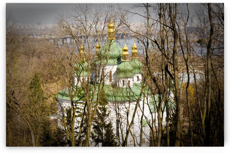 Eastern Orthodox Church in Kiev by Ann Romanenko