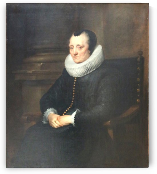 Dyck-Dame agee by Anthony van Dyck