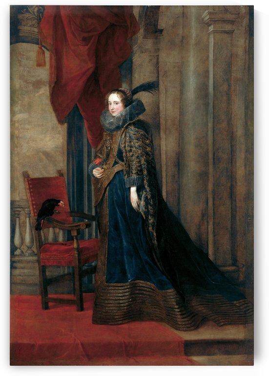 Paolina Adorno Brignole-Sale by Anthony van Dyck
