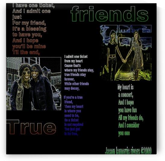 true friends by Poetry decor