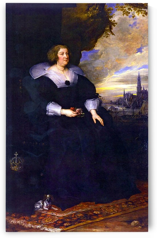 Maria de Medici by Anthony van Dyck