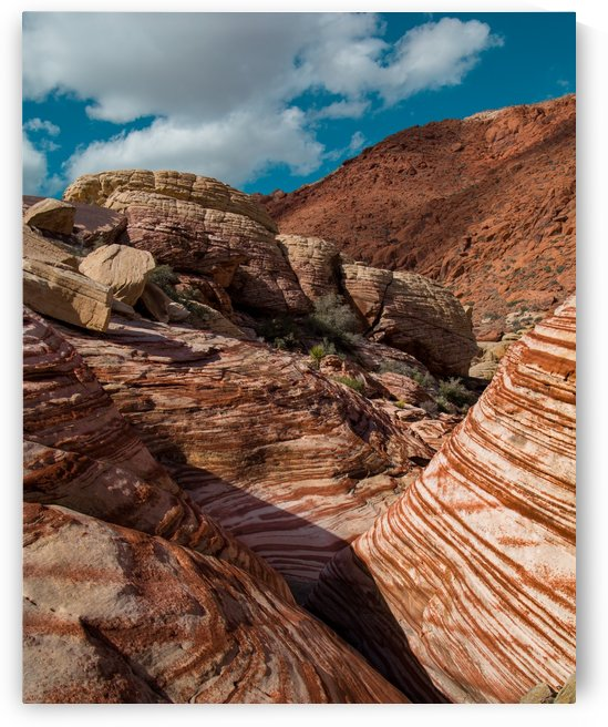 Red Rock Canyon Las Vegas by Noah E Geist