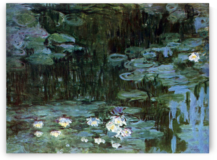 Water Lillies # 1 by Monet by Monet