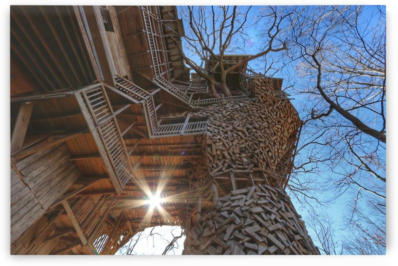 Abandoned Ministers Treehouse by RNK ALL DAY