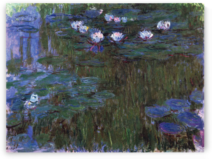 Water Lillies # 3 by Monet by Monet