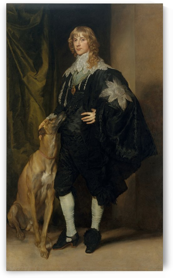 Portrait of James Stuart by Anthony van Dyck