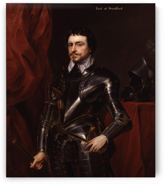 Thomas Wentworth, 1st Earl of Strafford by Anthony van Dyck