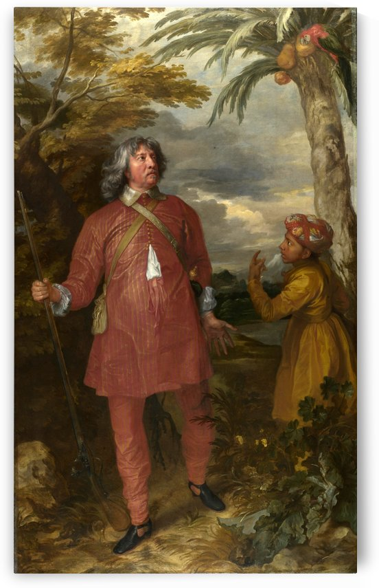 1st Earl Of Denbigh by Anthony van Dyck