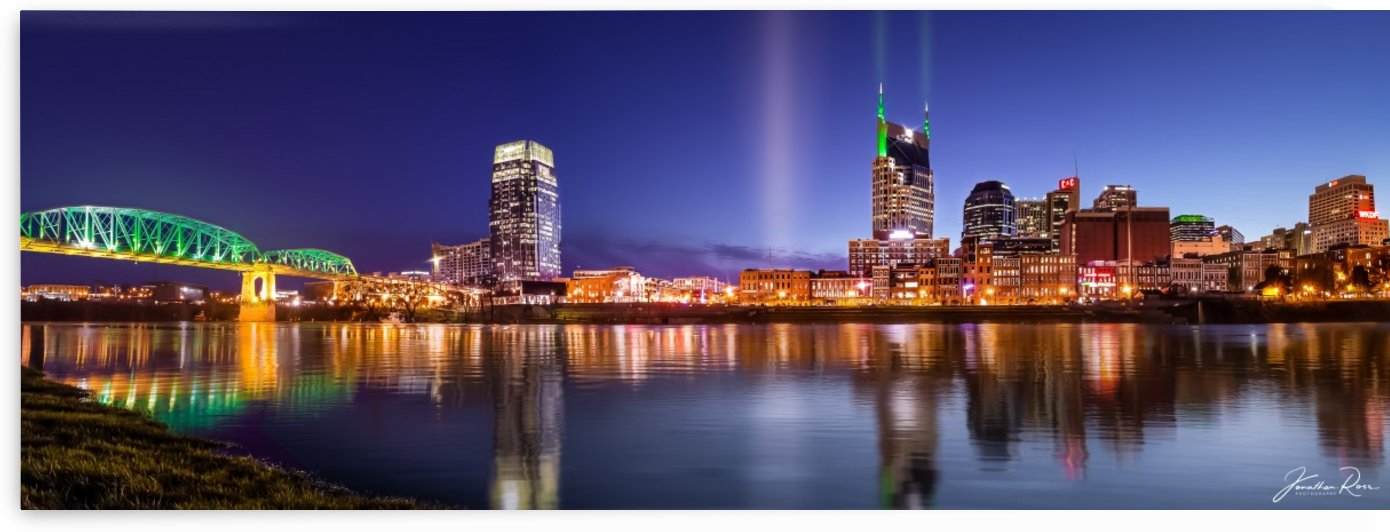 Nashville Skyline by Jonathan Ross