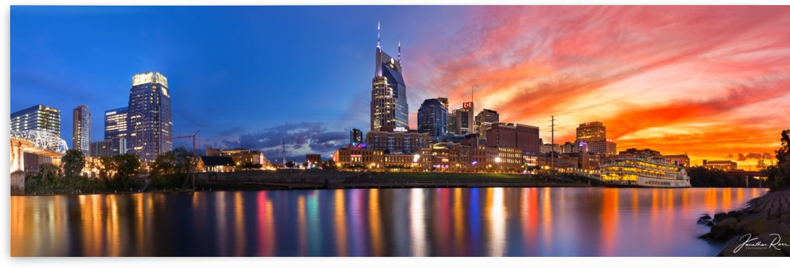 Nashville and General Jackson  by Jonathan Ross