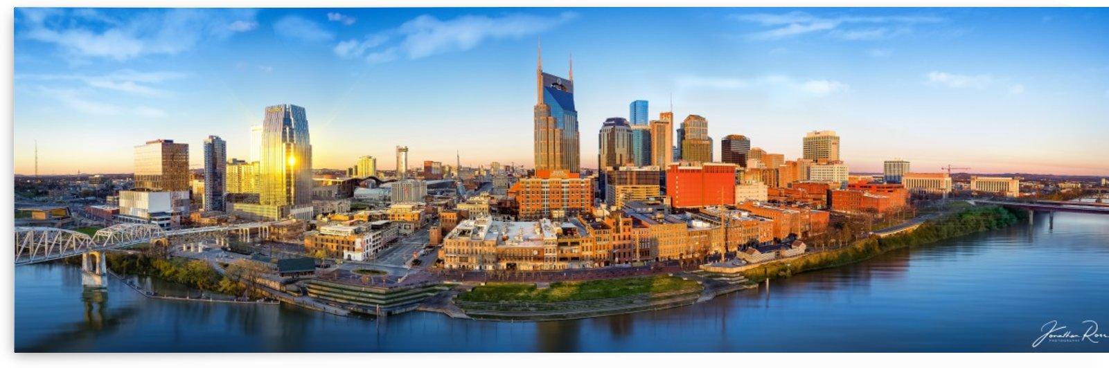 Nashville and morning sunrise by Jonathan Ross
