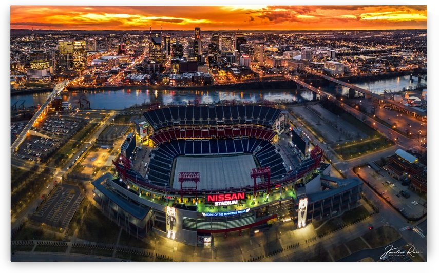 Nashville and Titans stadium by Jonathan Ross