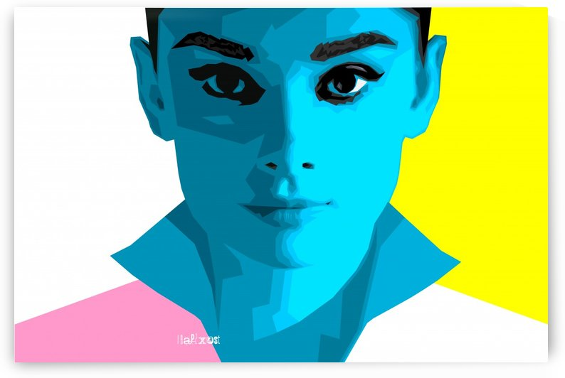 Pop Art Audrey by zelko radic bfvrp