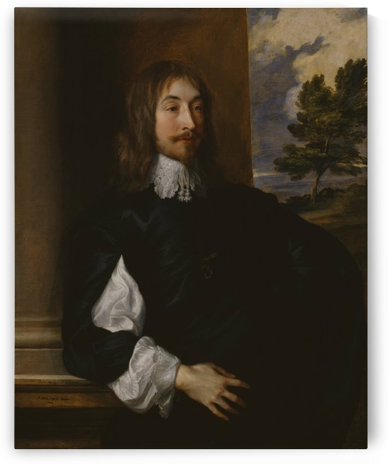 Portrait of Sir William Killigrew by Anthony van Dyck