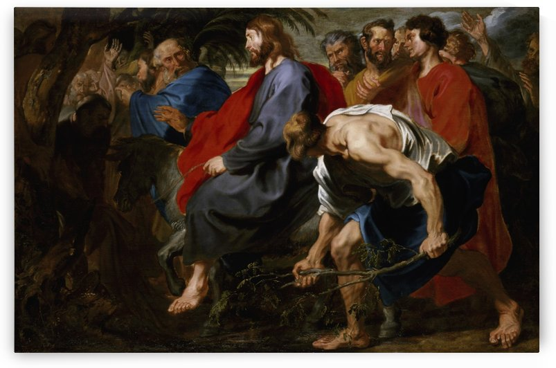 Entry of Christ into Jerusalem by Anthony van Dyck by Anthony van Dyck