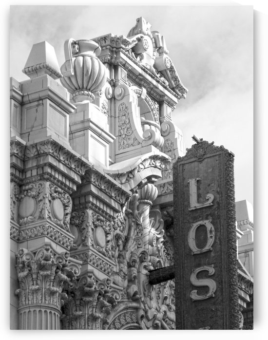 Details Los Angeles Theatre - B&W by Hold Still Photography