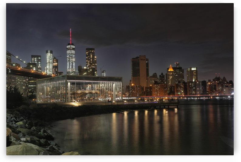 Janes Carousel NYC  by Kaye