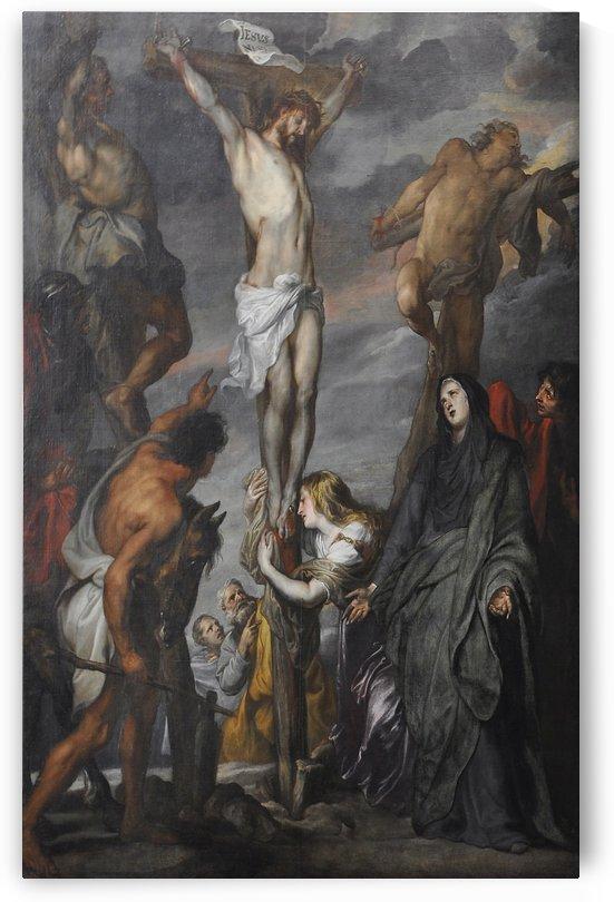 Christus aan het kruis by Anthony van Dyck