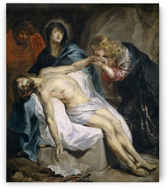 La Piedad by Anthony van Dyck