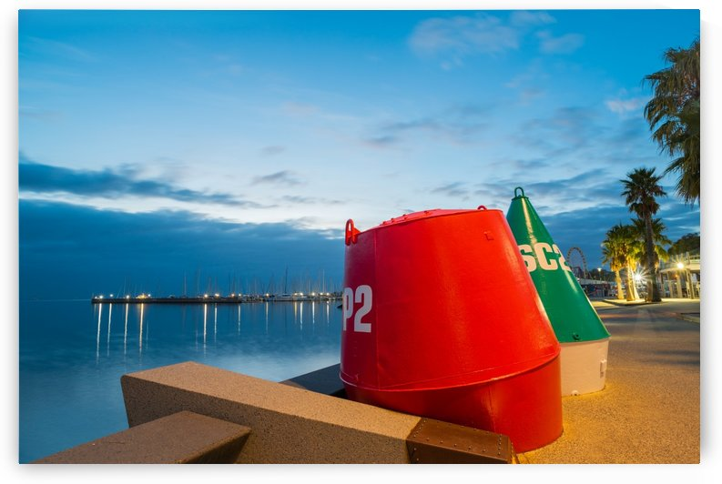 Geelong Waterfront Pre Dawn by Grant Cookson