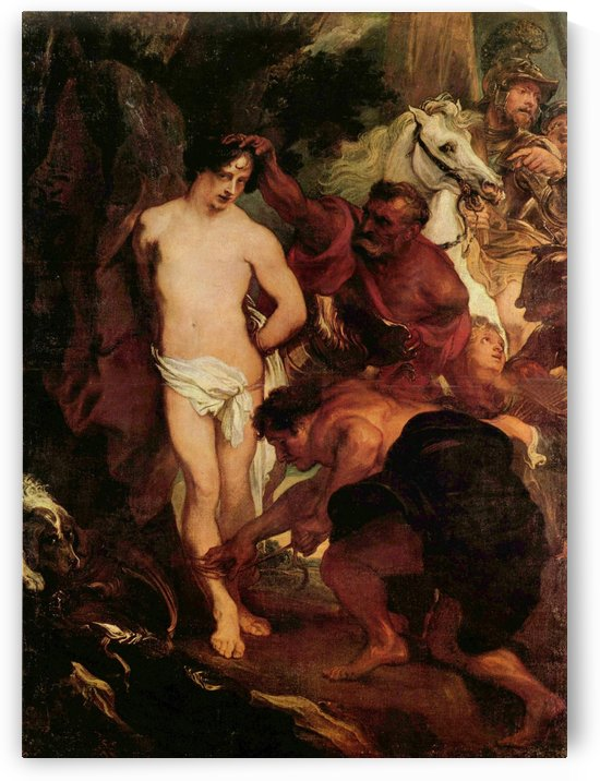 The Martyrdom of Saint Sebastian by Anthony van Dyck