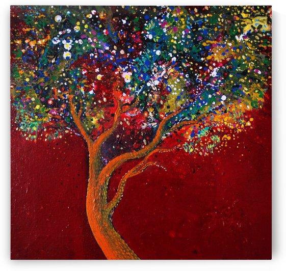 golden tree by sanjay g punekar
