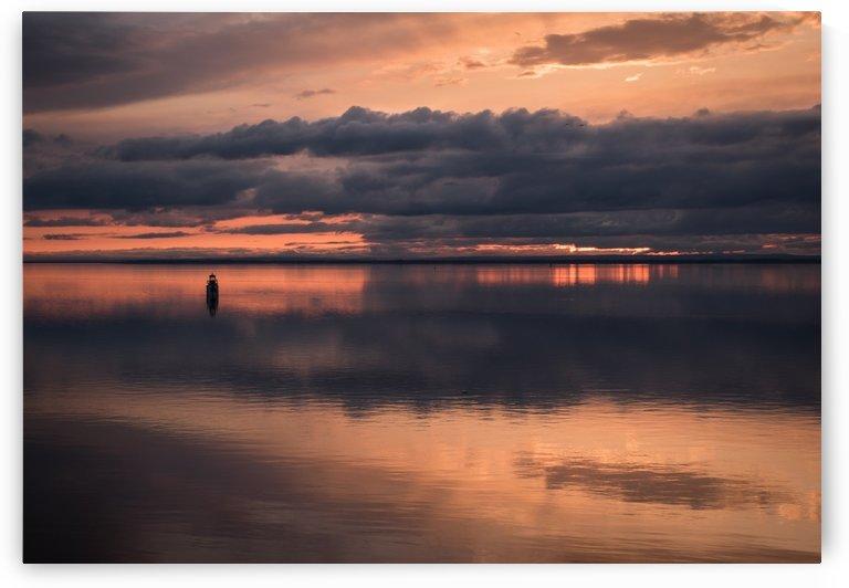 St Pierre Lake - Lac St Pierre by Carole Ledoux Photography