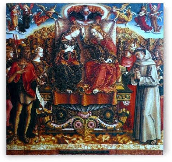 Couronnement de la Vierge by Carlo Crivelli