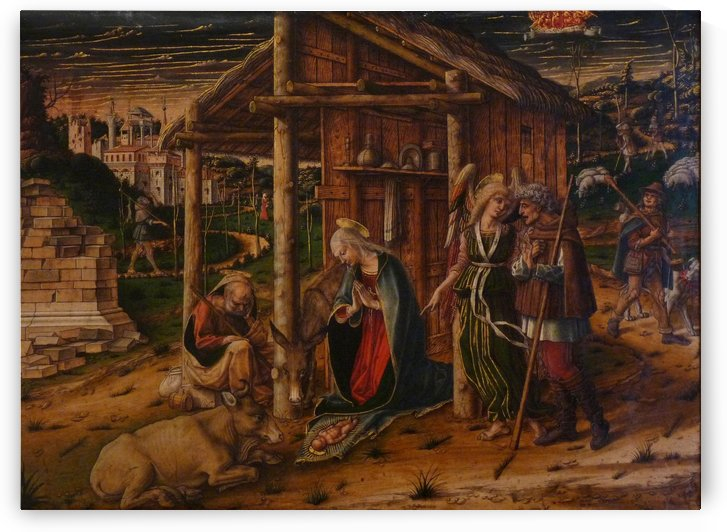 Adoration des Bergers by Carlo Crivelli
