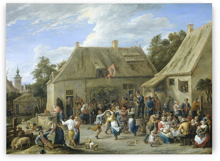 Boerenkermis by David Teniers the Younger